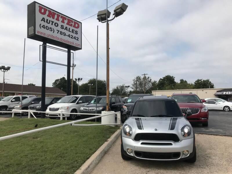 2012 MINI Cooper Countryman for sale at United Auto Sales in Oklahoma City OK
