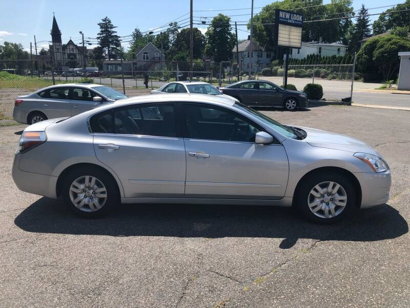 2012 Nissan Altima for sale at New Look Auto Sales Inc in Indian Orchard MA