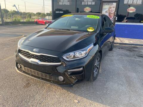 2021 Kia Forte for sale at Cow Boys Auto Sales LLC in Garland TX
