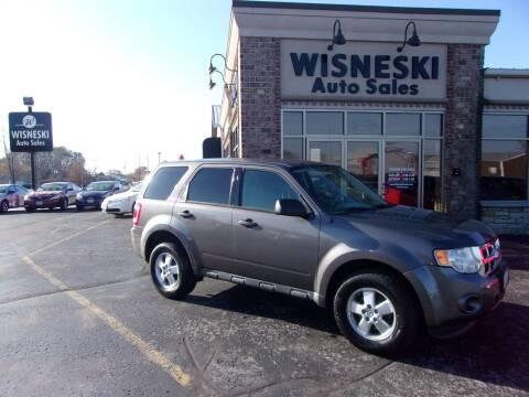 2012 Ford Escape for sale at Wisneski Auto Sales, Inc. in Green Bay WI