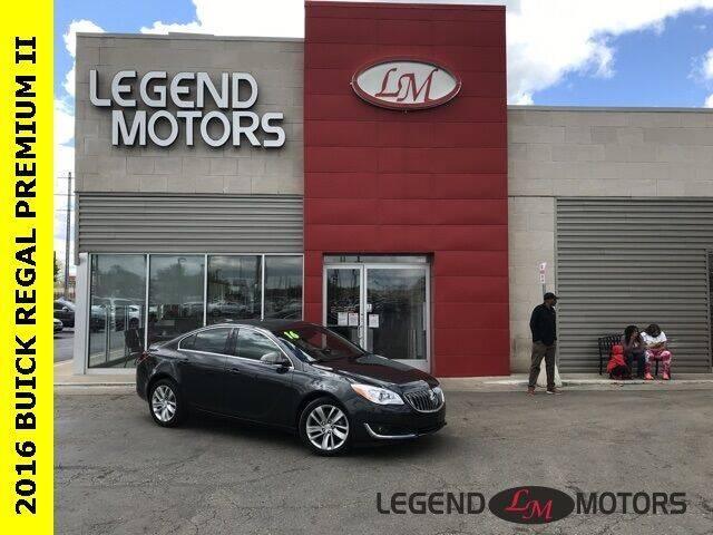 2016 Buick Regal for sale at Legend Motors of Detroit - Legend Motors of Ferndale in Ferndale MI