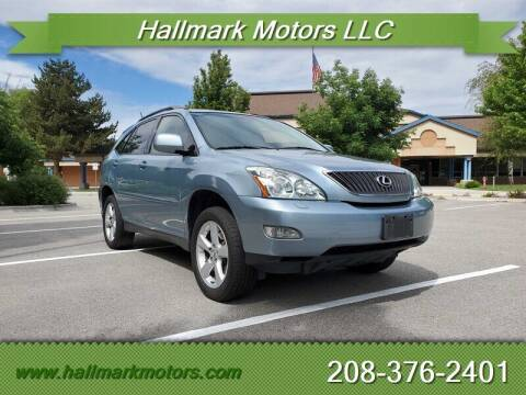 2004 Lexus RX 330 for sale at HALLMARK MOTORS LLC in Boise ID