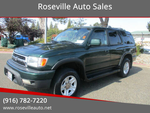 1999 Toyota 4Runner for sale at Roseville Auto Sales in Roseville CA