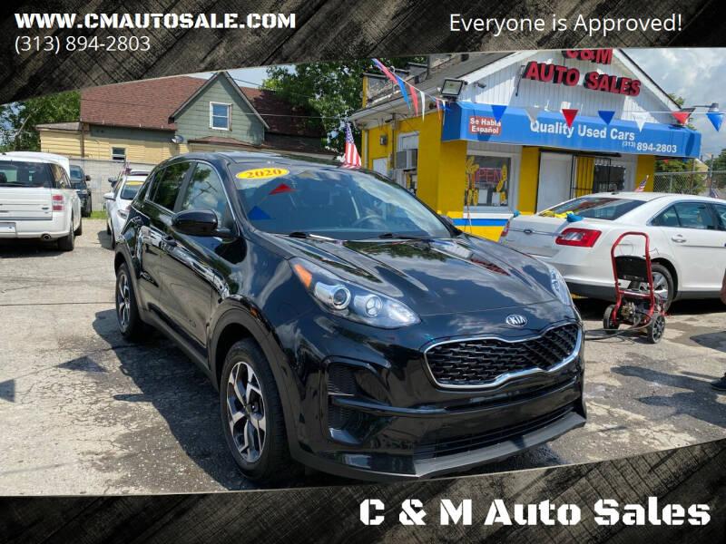 2020 Kia Sportage for sale at C & M Auto Sales in Detroit MI