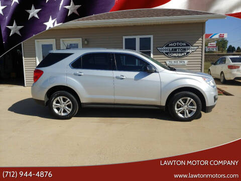 2015 Chevrolet Equinox for sale at Lawton Motor Company in Lawton IA