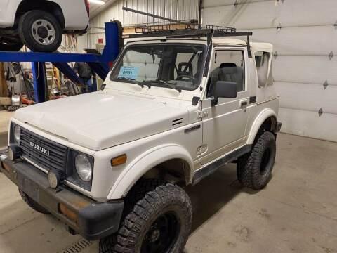1987 Suzuki Samurai for sale at B & B Auto Sales in Brookings SD