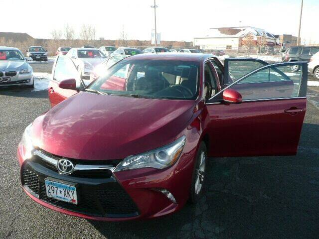 2017 Toyota Camry for sale at Prospect Auto Sales in Osseo MN