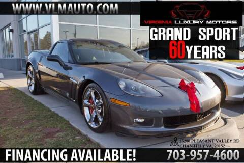 2013 Chevrolet Corvette for sale at Used Imports Auto - Virginia Luxury Motors in Chantilly GA