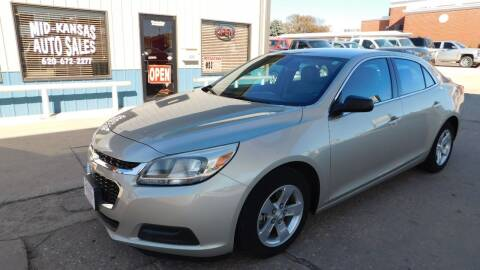 2014 Chevrolet Malibu for sale at Mid Kansas Auto Sales in Pratt KS
