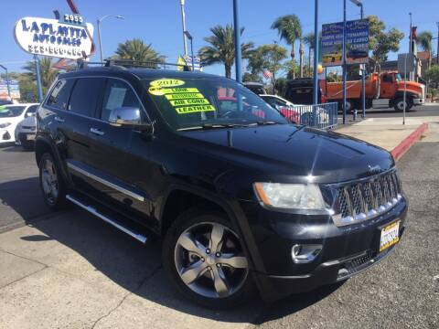 2012 Jeep Grand Cherokee for sale at 2955 FIRESTONE BLVD in South Gate CA