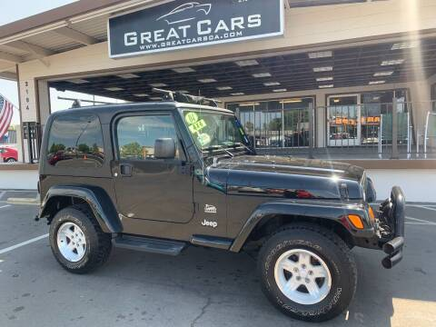 2004 Jeep Wrangler for sale at Great Cars in Sacramento CA