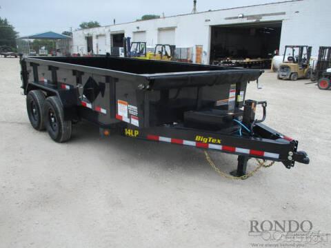 2022 Big Tex Dump 14LP-14BK6SIRPD for sale at Rondo Truck & Trailer in Sycamore IL