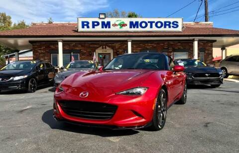 2016 Mazda MX-5 Miata for sale at RPM Motors in Nashville TN