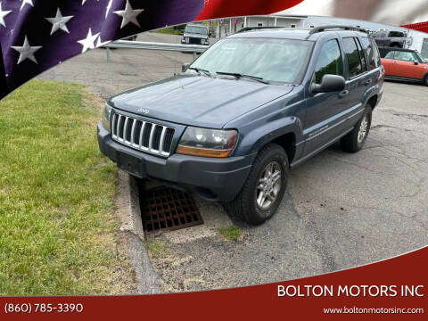 2004 Jeep Grand Cherokee for sale at BOLTON MOTORS INC in Bolton CT