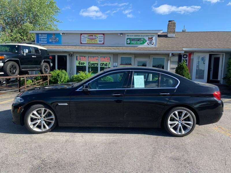 2015 BMW 5 Series for sale at Revolution Motors LLC in Wentzville MO