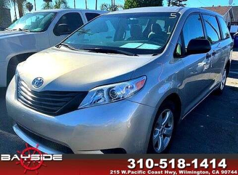 2016 Toyota Sienna for sale at BaySide Auto in Wilmington CA
