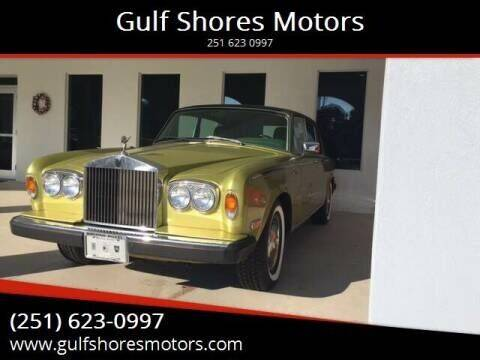 1977 Rolls-Royce Silver Writh for sale at Gulf Shores Motors in Gulf Shores AL