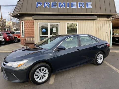 2017 Toyota Camry Hybrid for sale at Premiere Auto Sales in Washington PA