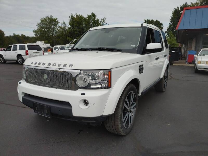 2013 Land Rover LR4 for sale at Cruisin' Auto Sales in Madison IN