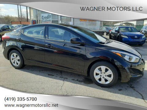 2016 Hyundai Elantra for sale at Wagner Motors LLC in Wauseon OH