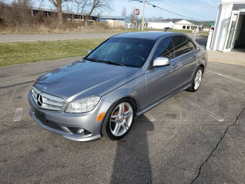 2009 Mercedes-Benz C-Class for sale at Rick's R & R Wholesale, LLC in Lancaster OH
