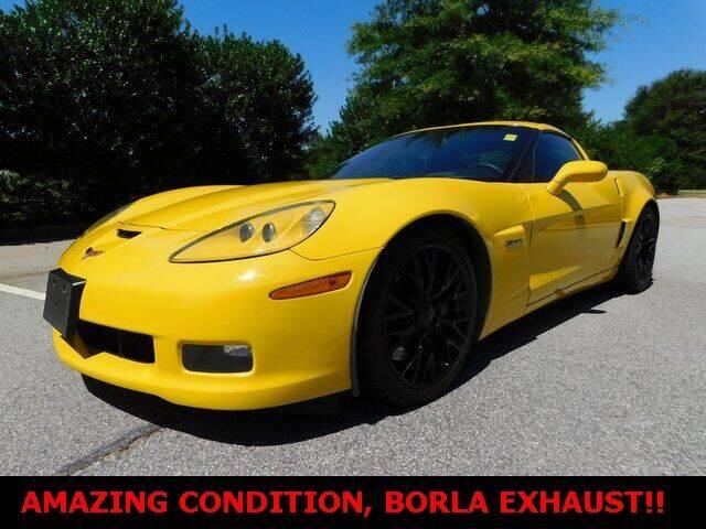 2007 Chevrolet Corvette for sale at Redline Performance group LLC in Douglasville GA