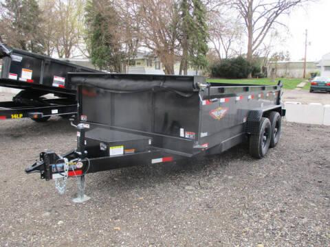 2021 H&H Dump H8314DBW-B-140