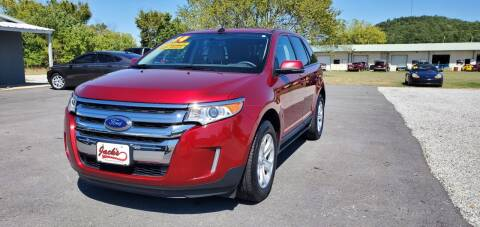 2014 Ford Edge for sale at Jacks Auto Sales in Mountain Home AR