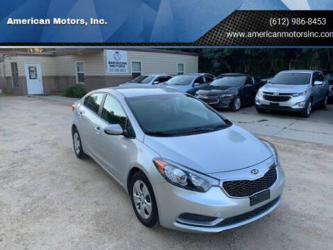 2016 Kia Forte for sale at American Motors, Inc. in Farmington MN