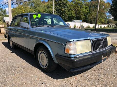 1993 Volvo 240 for sale at Specialty Auto Inc in Hanson MA