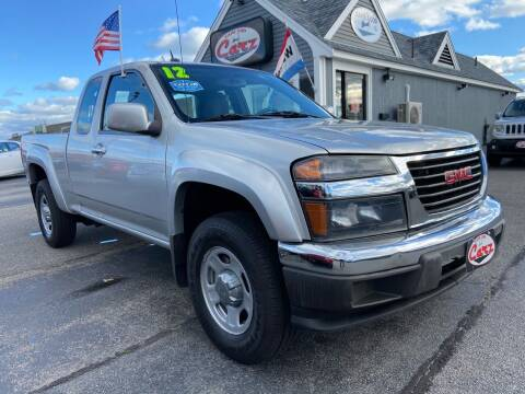 2012 GMC Canyon for sale at Cape Cod Carz in Hyannis MA