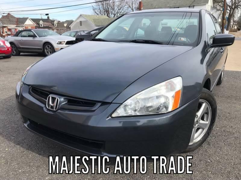 2004 Honda Accord for sale at Majestic Auto Trade in Easton PA