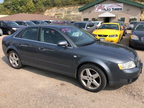 2003 Audi A4 for sale at Gilly's Auto Sales in Rochester MN