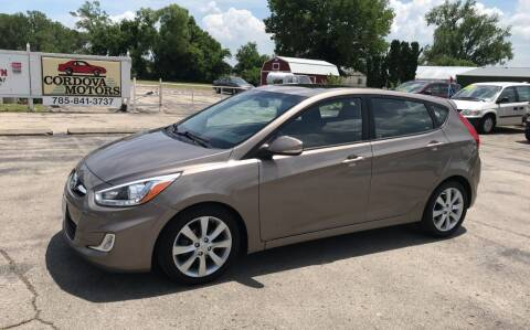 2014 Hyundai Accent for sale at Cordova Motors in Lawrence KS