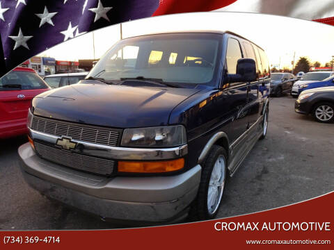 2004 Chevrolet Express Cargo for sale at Cromax Automotive in Ann Arbor MI