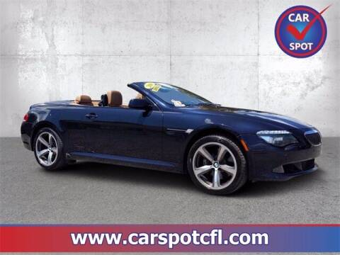 2010 BMW 6 Series for sale at Car Spot Of Central Florida in Melbourne FL