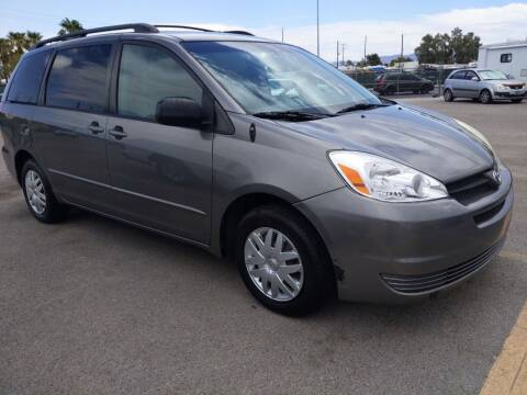 2005 Toyota Sienna for sale at Car Spot in Las Vegas NV