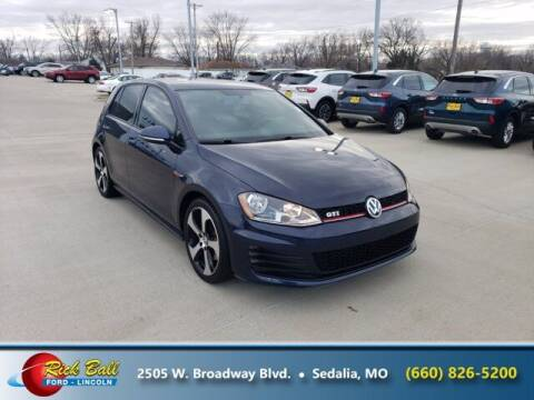 2017 Volkswagen Golf GTI for sale at RICK BALL FORD in Sedalia MO