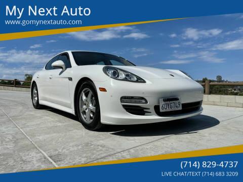 2012 Porsche Panamera for sale at My Next Auto in Anaheim CA