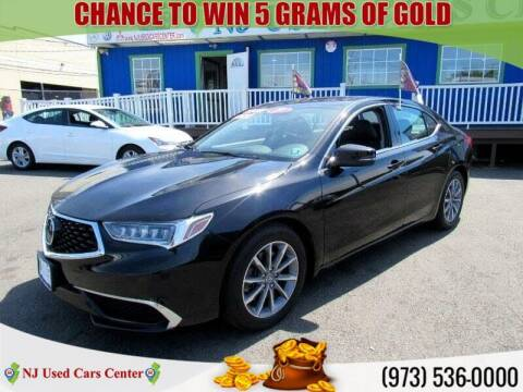 2019 Acura TLX for sale at New Jersey Used Cars Center in Irvington NJ