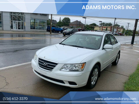 2009 Hyundai Sonata for sale at Adams Motors INC. in Inwood NY
