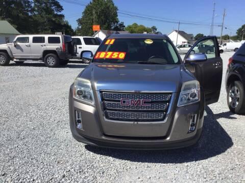 2011 GMC Terrain for sale at K & E Auto Sales in Ardmore AL