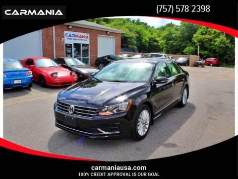 2017 Volkswagen Passat for sale at CARMANIA LLC in Chesapeake VA
