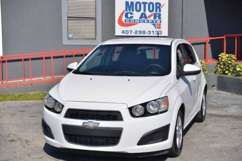 2012 Chevrolet Sonic for sale at Motor Car Concepts II - Colonial Location in Orlando FL