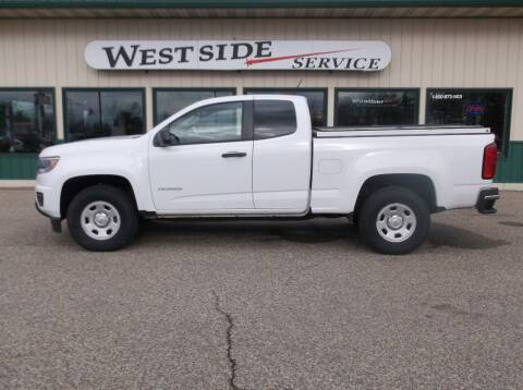 2015 Chevrolet Colorado for sale at West Side Service in Auburndale WI