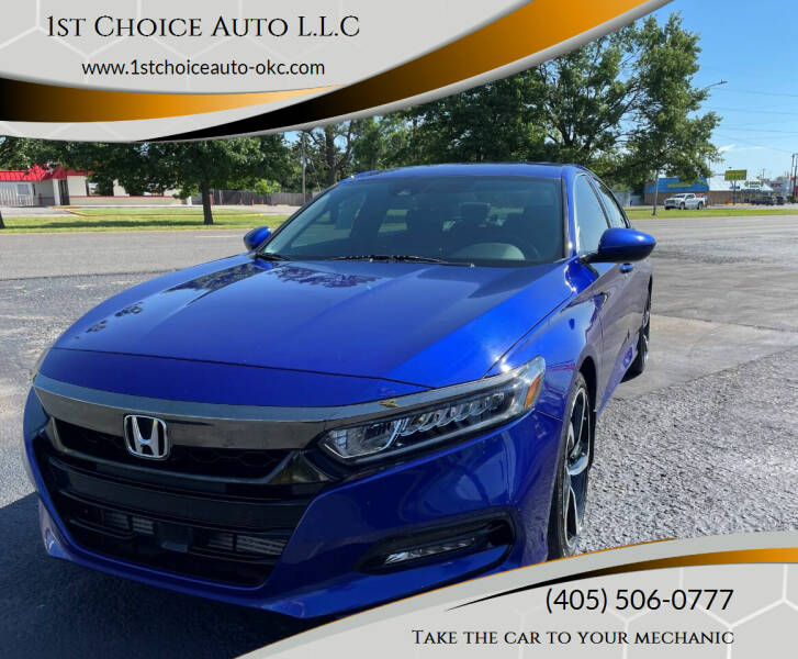 2018 Honda Accord for sale at 1st Choice Auto L.L.C in Oklahoma City OK