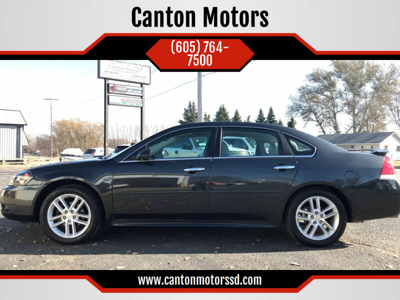 2014 Chevrolet Impala Limited for sale at Canton Motors in Canton SD