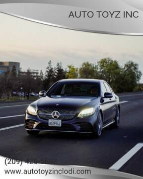 2019 Mercedes-Benz C-Class for sale at Auto Toyz Inc in Lodi CA