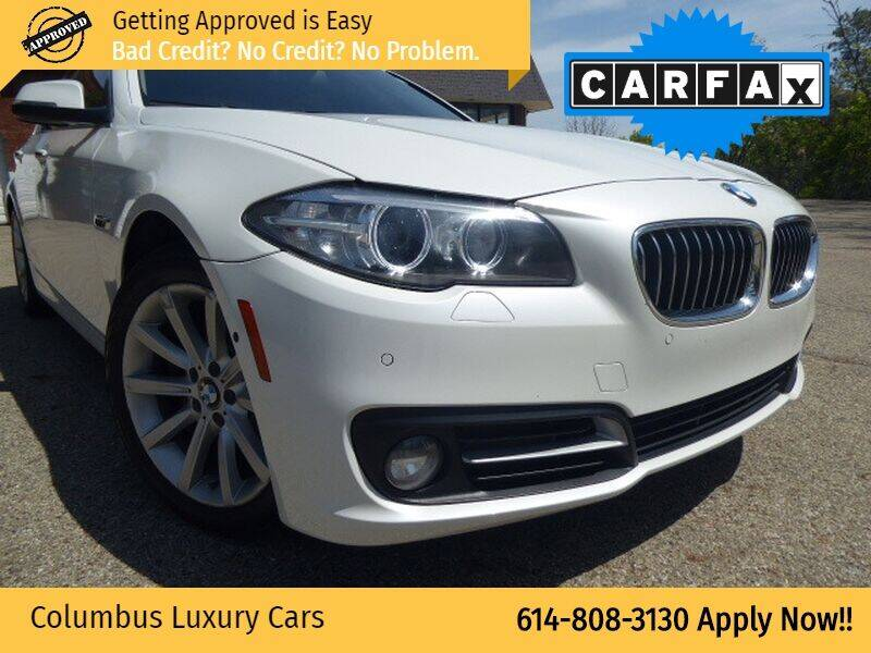 2015 BMW 5 Series for sale at Columbus Luxury Cars in Columbus OH