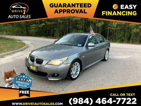 2010 BMW 5 Series for sale at Drive 1 Auto Sales in Wake Forest NC